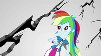 Rainbow Dash watching limbo crack apart EGS3