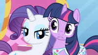 Rarity Twilight are the best of friends S1E1