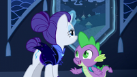 Spike happy to see Rarity S5E26