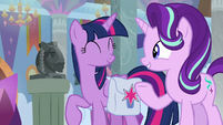 """Starlight """"Twilight has asked me to stay here"""" S8E25"""