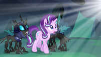 Starlight in awe of Thorax's metamorphosis S6E26