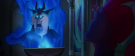 Storm King sticking out his tongue MLPTM