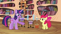 "Twilight ""Did you follow the magic plant-growing formula"" S4E15"