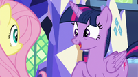 "Twilight Sparkle ""this is the first time"" S8E23"