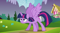 Twilight about to fly S4E26