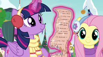 Twilight looking at a list MLPBGE