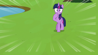 Twilight watching Spike plummet S8E24