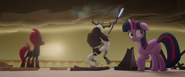 Twilight weirded out by the Storm King MLPTM