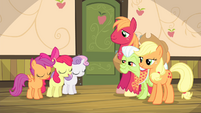 "Apple Bloom ""I accept your decision"" S4E17"