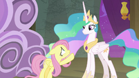 """Fluttershy """"me playing you?"""" S8E7"""
