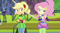 Fluttershy --glad I don't go to Crystal Prep-- EG3