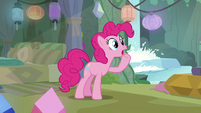 Pinkie Pie calling out to Maud Pie S8E3