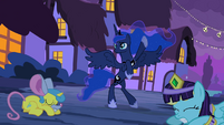 Princess Luna stand what S2E4