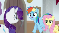 """Rainbow """"tell those announcers to pipe down!"""" BGES3"""