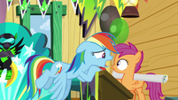 """Rainbow """"why are you starting a new fan club?"""" S8E20"""