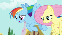 """Rainbow Dash """"I know you weren't expecting"""" S6E11"""