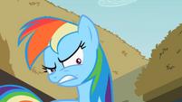 Rainbow Dash shrinking pupils S2E8