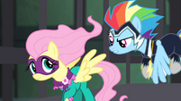Rainbow tells Fluttershy to get mad S4E06
