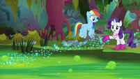 """Rarity """"at least you can fly across"""" S8E17"""