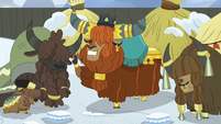 Rutherford declares snow couscous; yaks more depressed S7E11