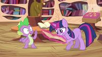 Spike offers idea S3E13
