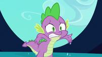 Spike sweaty claws S3E2