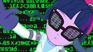 Twilight Sparkle in a computer matrix SS5.png