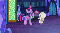 """Twilight answers """"going to bed!"""" S9E16"""