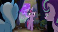 Twilight reprimanding Starlight Glimmer S6E6