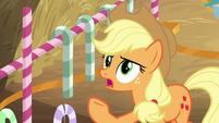 """Applejack """"we gallop backwards"""" BGES2"""
