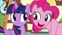 """Pinkie Pie """"nice save, Twilight!"""" S8E20"""