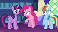 """Pinkie Pie butts in """"first of all"""" EG2"""