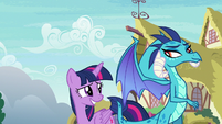 Princess Ember knows what she's doing S7E15