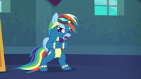 """Rainbow Dash """"just gotta go out there"""" S6E7"""