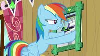 Rainbow removes Washouts picture from frame S8E20