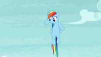 Rainbow waving her front legs S5E15