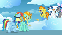 Spitfire 'Why don't you two go hit the mess hall early' S3E07
