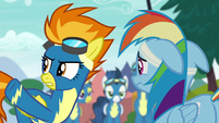 Spitfire --put other ponies at risk-- S6E7