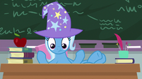 Trixie looking at her history students S9E20