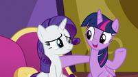 """Twilight """"Spike made a new friend"""" S9E19"""