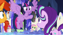 """Twilight """"Star Swirl wrote the spell you used"""" S7E25"""