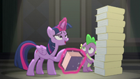 "Twilight Sparkle ""I think you'll find"" S8E1"