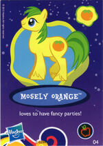 Wave 8 Mosely Orange collector card
