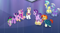 Cadance --after Queen Chrysalis took my place-- S6E16