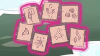 Cutie mark images split into seven MLPBGE