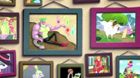 Photographs on Pinkie Pie's wall BFHHS3