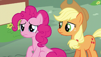 Pinkie Pie sad at being ignored S6E11