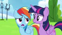 "Rainbow Dash ""no, it's my fault"" S6E24"