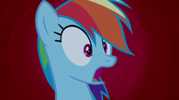 "Rainbow Dash horrified ""oh, no!"" S6E15"