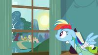 Rainbow Dash morning S02E16